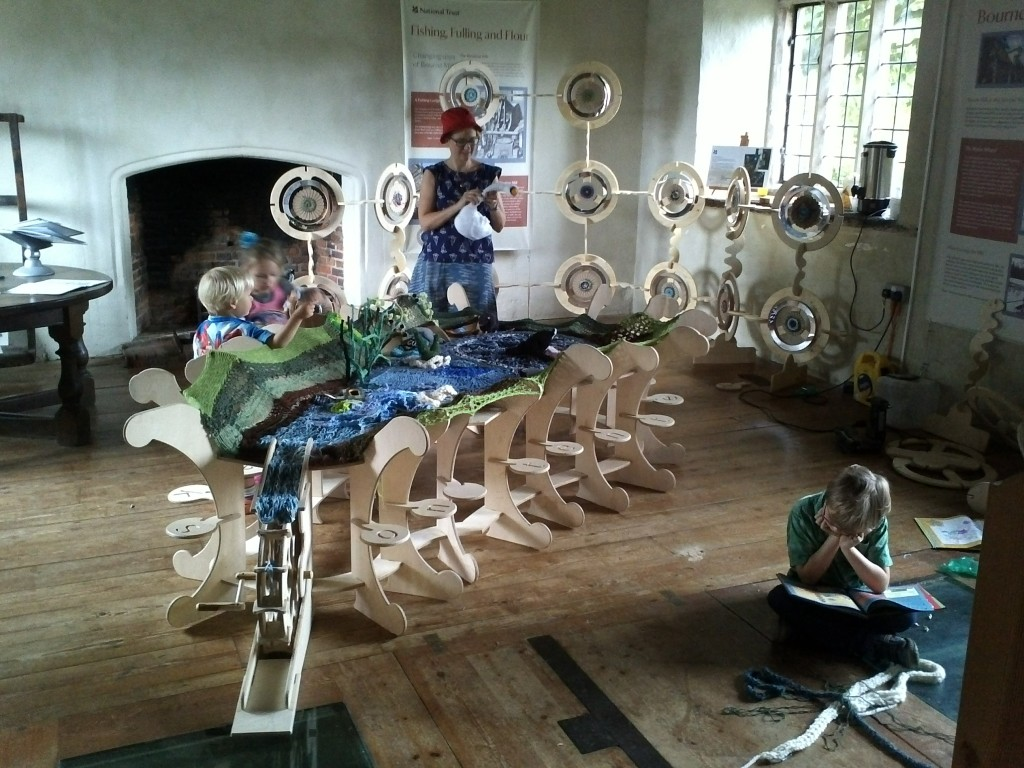 National Trust Bourne Mill in association with Clare Sams and Monkwick Infant School